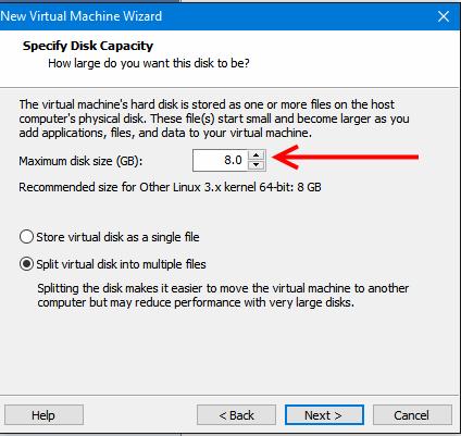 VMware erreur5